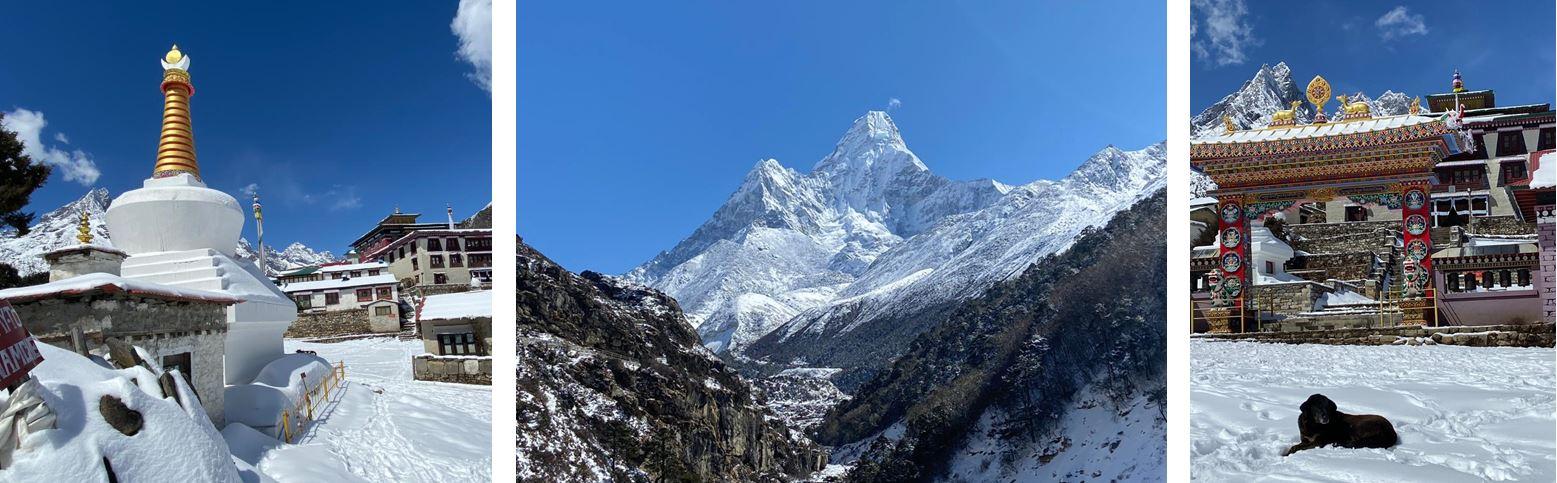 Winterbilder Nepal